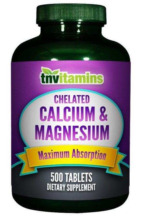 Calcium Plus Magnesium Chelate Tablets