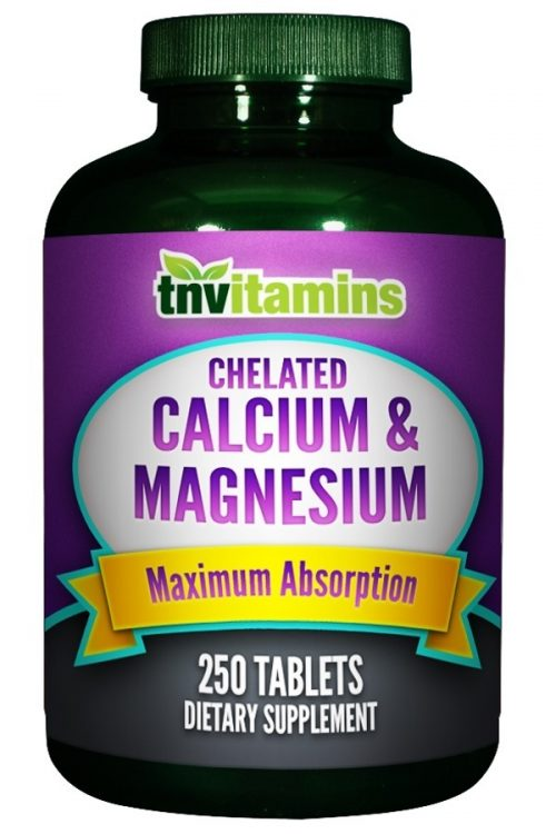 Calcium Plus Magnesium Chelate Tablets