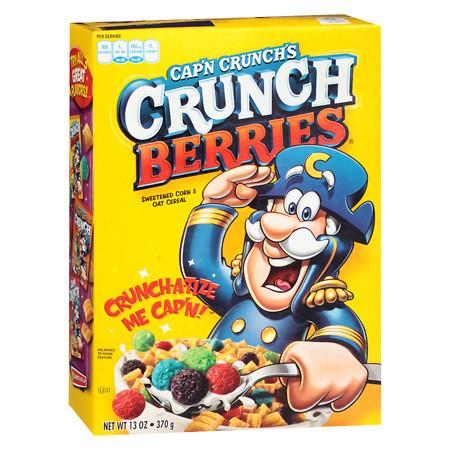 Cap'n Crunch Crunch Berries Cereal - 13 oz.