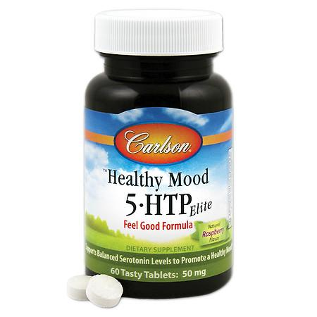 Carlson Healthy Mood 5 HTP Elite, tablets - 60 ea