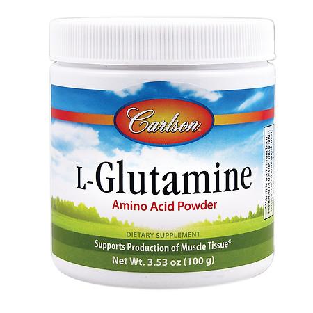 Carlson L-Glutamine Amino Acid Powder - 100 g
