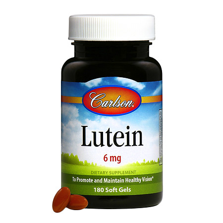 Carlson Lutein 6 mg, Softgels - 180 ea