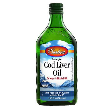 Carlson Norwegian Cod Liver Oil - 16.9 oz.