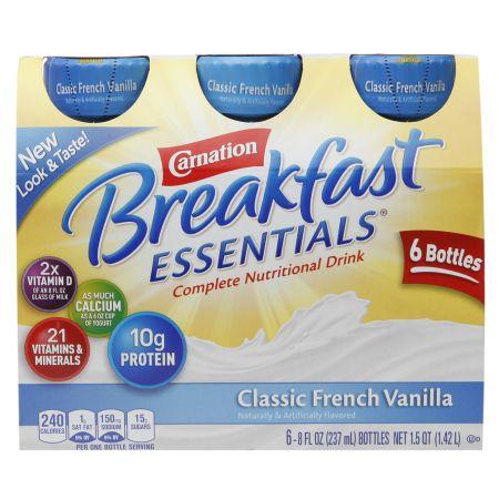 Carnation Breakfast Essentials Complete Nutritional Drink French Vanilla - 8 oz.