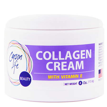 Carson Life Collagen Elastin with Vitamin E Face Cream Lavender - 4 oz.