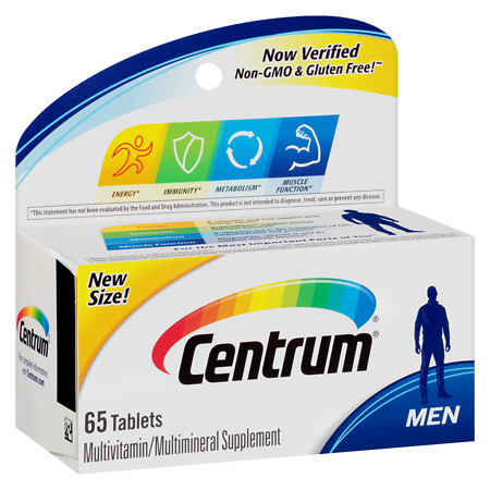 Centrum Men, Complete MultivitaminMultimineral Supplement Tablet - 65 ea