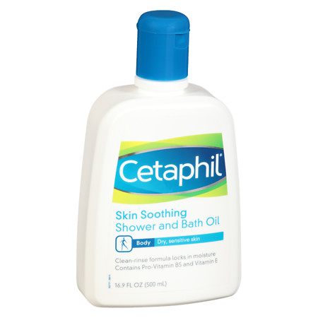 Cetaphil Skin Soothing Shower and Bath Oil - 16.9 oz.