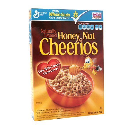 Cheerios Honey Nut Cereal - 12.25 oz.