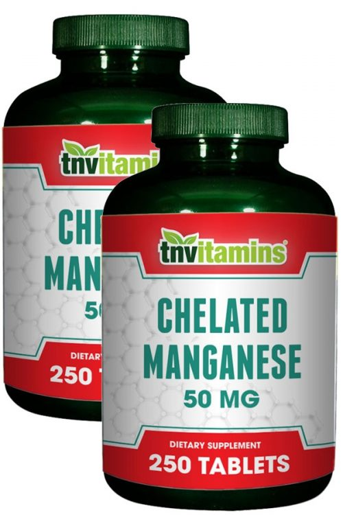 Chelated Manganese 50 Mg Tablets