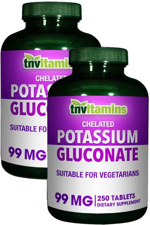 Chelated Potassium 99 Mg Tablets