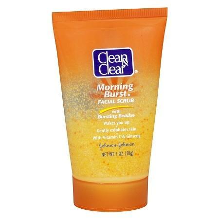 Clean & Clear Morning Burst Facial Scrub - 1 oz.