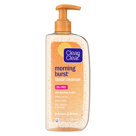Clean & Clear Morning Burst Morning Burst Facial Cleanser - 8 fl oz
