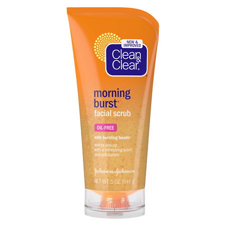 Clean & Clear Morning Burst Morning Burst Facial Scrub - 5 oz.