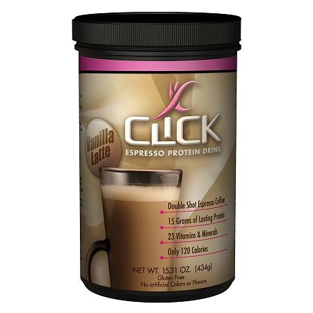 Click Espresso Protein Drink Vanilla Latte - 16 oz.