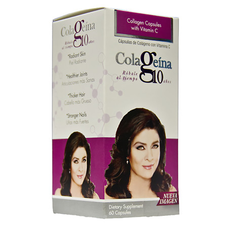 Colageina 10 Collagen Caps - 60 EA
