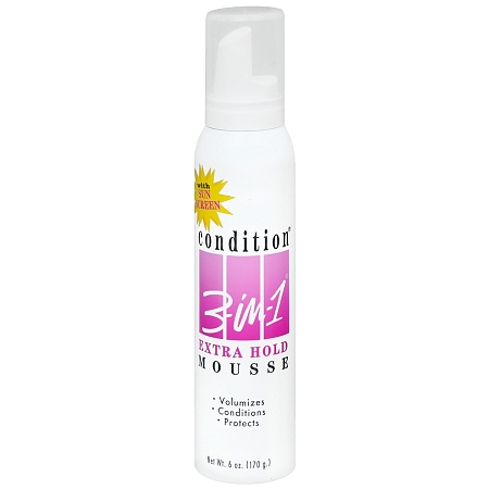 Condition 3-in-1 Mousse Extra Hold - 6 oz.