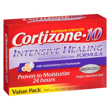 Cortizone 10 Intensive Healing Cream - 2 oz.