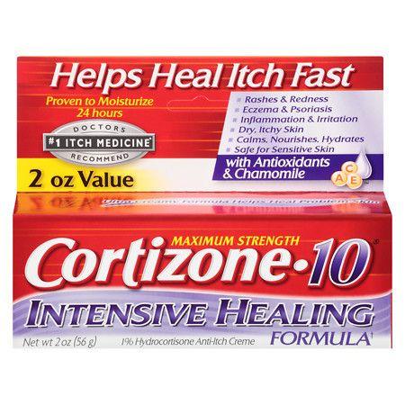 Cortizone 10 Intensive Healing Formula 1% Hydrocortisone Anti-Itch Creme - 2 oz.