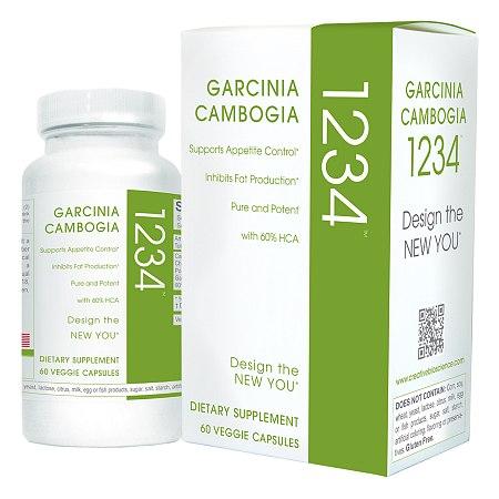 Creative Bioscience Garcinia Cambogia 1234 Appetite Control, Capsules - 60 ea