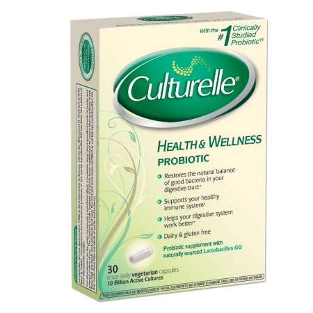Culturelle Probiotic Supplement Capsules - 30 ea