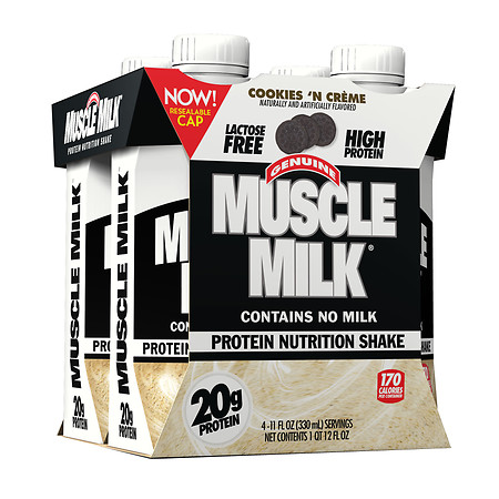 CytoSport Muscle Milk Nutritional Protein Shake Cookies N Creme - 11 oz.