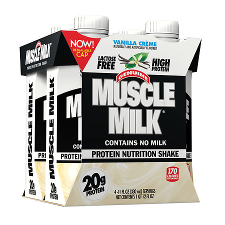 CytoSport Muscle Milk Protein Nutrition Shake Vanilla Creme - 11 oz.