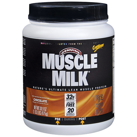 CytoSport Muscle Milk Protein Powder Chocolate - 1.93 lbs