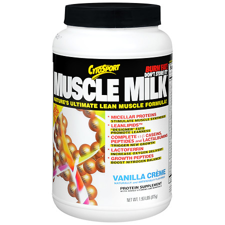 CytoSport Muscle Milk Protein Powder Vanilla - 1.93 lbs