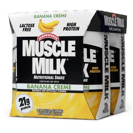 CytoSport Muscle Milk Protein Shake Banana Creme - 11 oz.