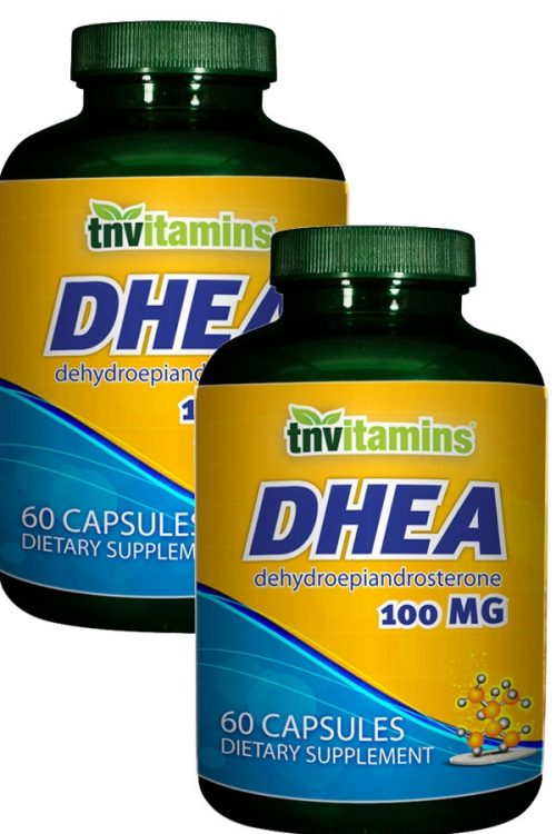 DHEA 100 Mg Capsules