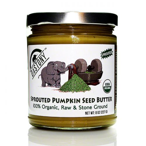 Dastony Raw Sprouted Pumpkin Seed Butter, 8 oz