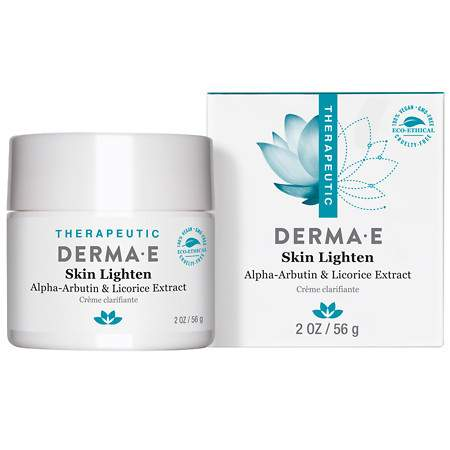 Derma E Skin Lighten Natural Fade and Age Spot Creme Treatment - 2 oz.