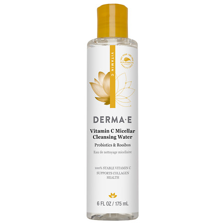 Derma E Vitamin C Micellar Cleansing Water Natural Fragrance Oils - 6 oz.