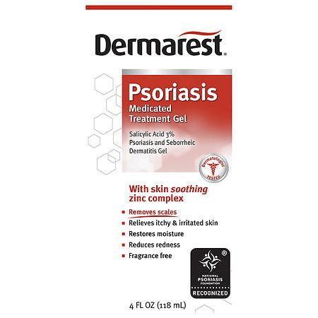 Dermarest Psoriasis Medicated Skin Treatment - 4 fl oz