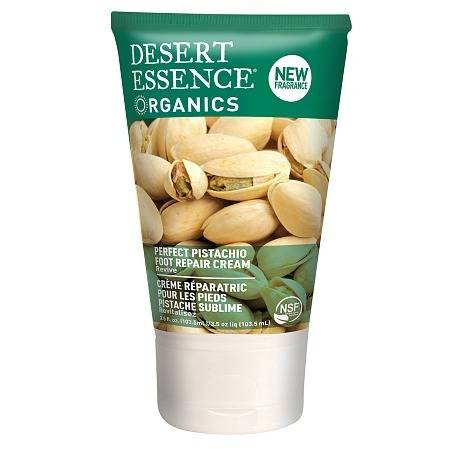 Desert Essence Organics Foot Repair Cream Pistachio - 3.5 oz.