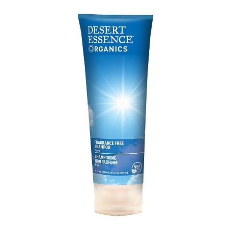 Desert Essence Shampoo Fragrance Free - 8 fl oz