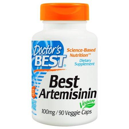 Doctor's Best Best Artemisinin, 100mg, Veggie Caps - 90 ea