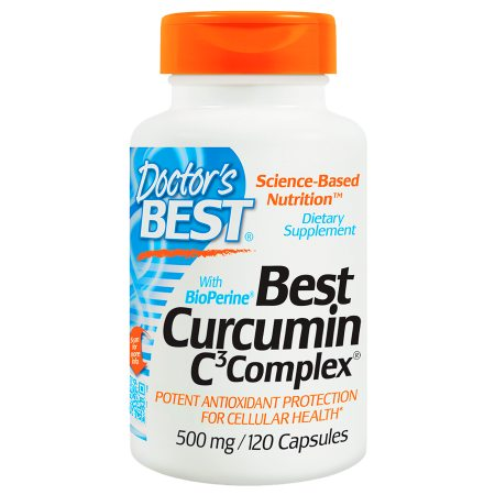 Doctor's Best Best Curcumin C3 Complex with BioPerine, 500mg, Capsules - 120 ea