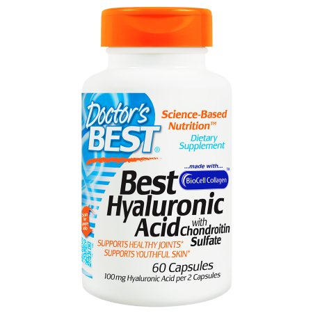 Doctor's Best Best Hyaluronic Acid with Chondroitin Sulfate, Capsules - 60 ea