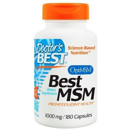 Doctor's Best Best MSM, 1000mg, Capsules - 180 ea