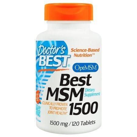 Doctor's Best Best MSM 1500, 1500mg, Tablets - 120 ea