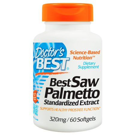 Doctor's Best Best Saw Palmetto Standardized Extract, 320mg, Softgels - 60 ea