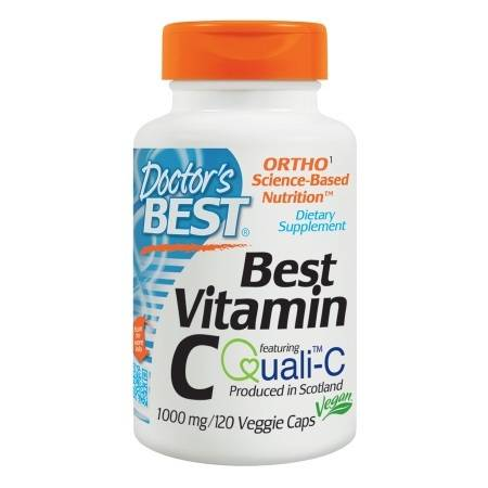 Doctor's Best Best Vitamin C, 1000mg, Veggie Caps - 120 ea