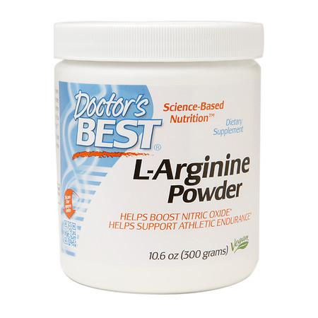 Doctor's Best L-Arginine Powder - 10.6 oz.