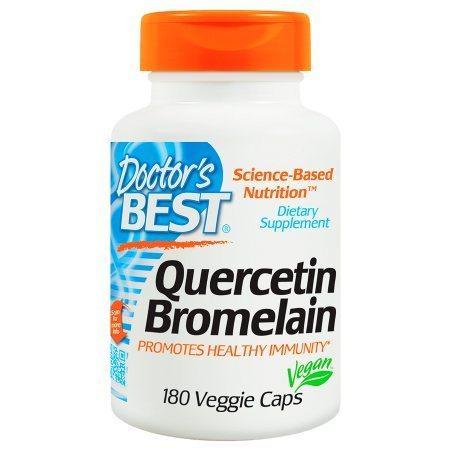 Doctor's Best Quercetin Bromelain, Veggie Caps - 180 ea