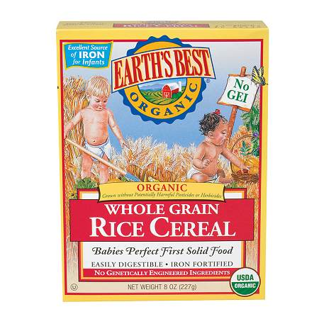 Earth's Best Organic Brown Rice Cereal - 8 oz.