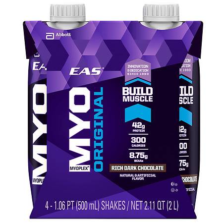 Eas Myoplex Original Ready To Drink Rich Dark Chocolate - 17 oz.