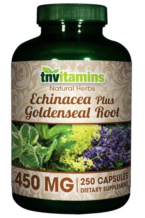 Echinacea Plus Goldenseal Root 450 Mg