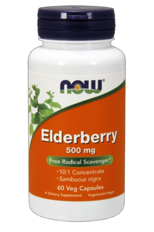 Elderberry Sambucus 500 Mg