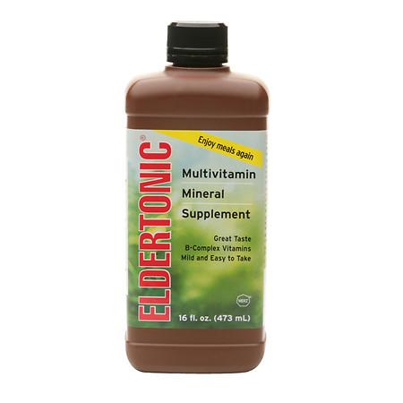 Eldertonic Multivitamin Mineral Supplement - 16 fl oz